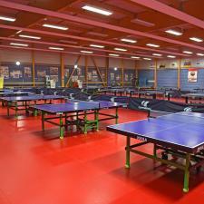 Centre sportif Saint-Ghislain - Salle de tennis de table -Saint-Lô (50)