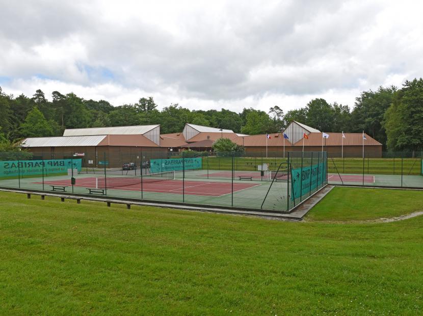Complexe tennistique Maxime Merlin, Bagnoles de l'Orne Normandie, Orne