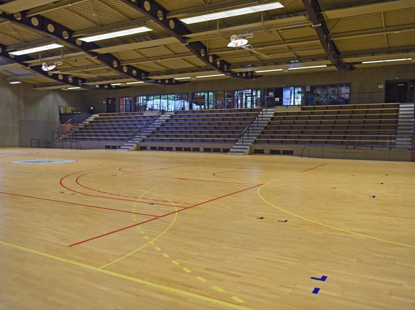 Gymnase Michel Comont, Port-Jérôme-sur-Seine, Seine-Maritime