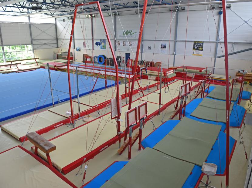 Salle de gymnastique UFR STAPS - Mont-Saint-Aignan (76) 2