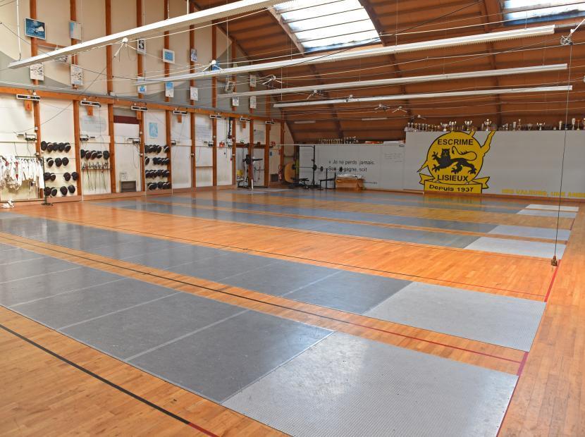 Salle d'armes Alain Mimoun, Lisieux, Calvados