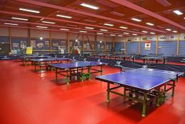 Centre sportif Saint-Ghislain - Salle de tennis de table -Saint-Lô (50)