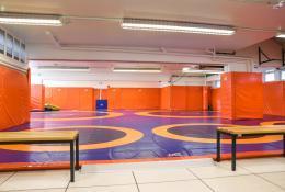 Salle de lutte, Sotteville-lès-Rouen, Seine-Maritime